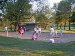 Sand Volleyball in picnic area - Hamilton County, IA