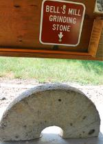 Grinding Stone Located at Bells Mill Park