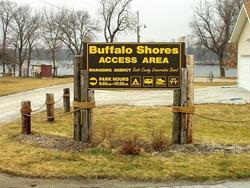Buffalo Shores Sign