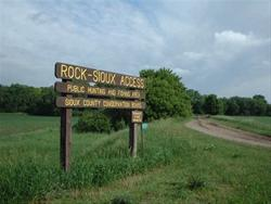 Rock Sioux Access Entrance Road