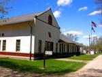 Historic train depots are found along many linear trails, Cedar Valley Nature Trail, Center Point