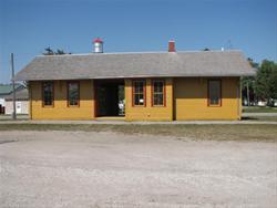 Dawson Depot Restored