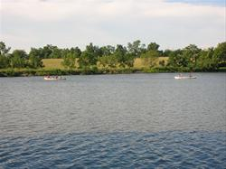 Canoeing at Corydon Lake Park