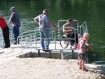 Fishing at Lake Meyer Park and Campground