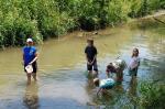 Creek stomping!