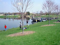Discovery Pond at Discovery Park