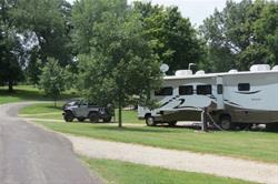 Camping At Squaw Creek