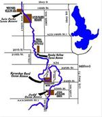Canoe Trail map