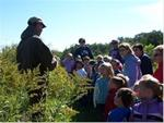Elementary Students Hike the Trails at Lake Meyer Park