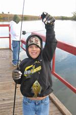 Fishing at Smith Lake