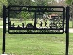 Ackley Creek Park sign