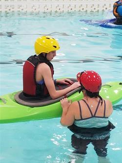 Kayak in the Pool