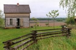 Log Cabin Historical Site Marshall Ia