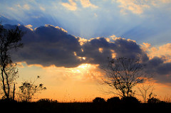 Sunset at Chipera Prairie