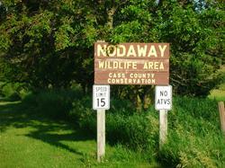 Nodaway Sign