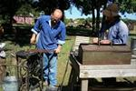Blacksmithing reenactments  - Emmet County Conservation