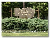 Scott County Park Entrance