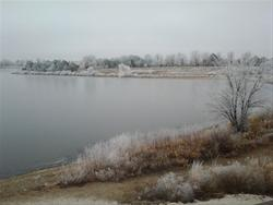Smith Lake in the Winter