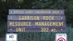 Garrison Rock Sign