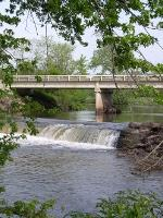 Scenic View of Dam at Lenon Mill Park