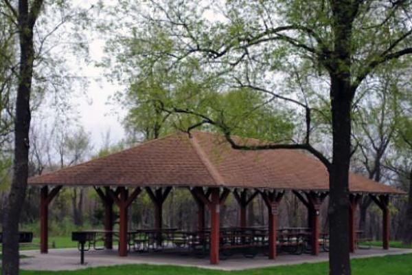 Easter Lake Shelter #3-lake improvements underway -No Image