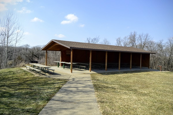 Picnic Shelter Hillview Recreation Area Plymouth County