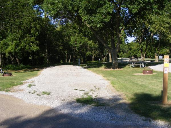 Marion County Park, Campsite #40 -No Image