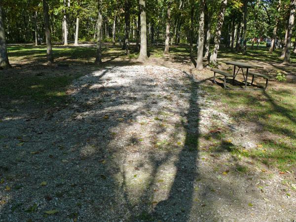 Morris Campground site 06 -No Image