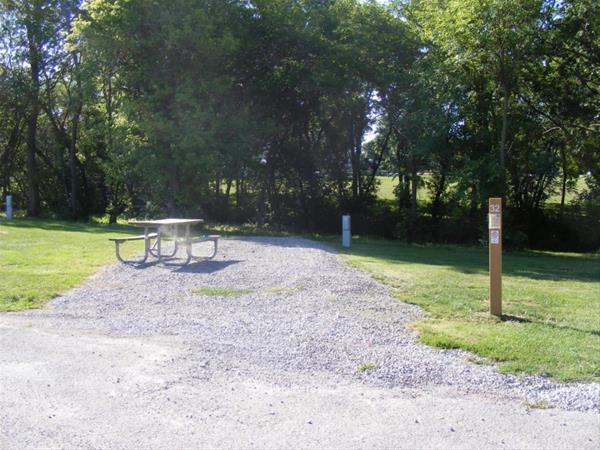 Marion County Park, Campsite #32 -No Image