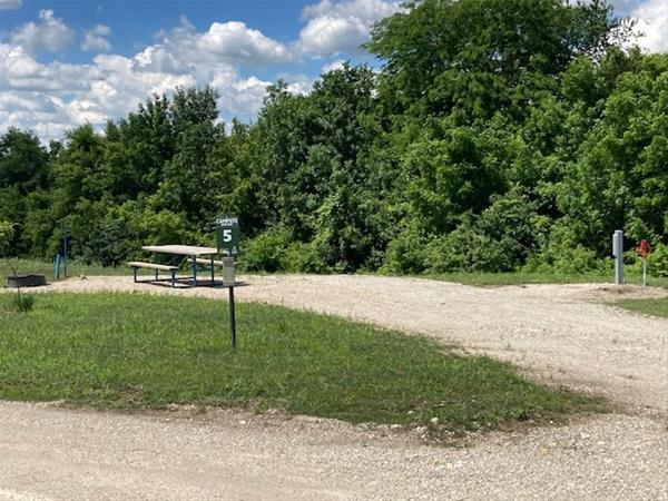 ELP #05 Bur Oak Campsite -No Image