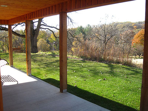 Smokey Hollow Porch View