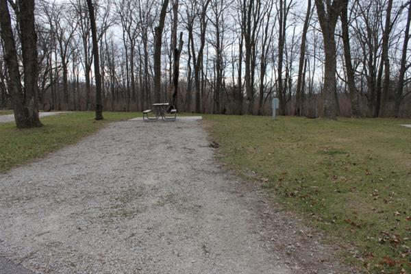 Pammel Park Campground Site 25 -No Image