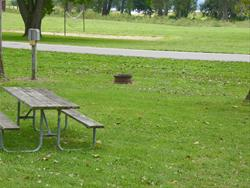 Mud Lake Park: Campsite 24 -No Image