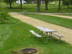Mud Lake Park: Campsite 40 -No Image