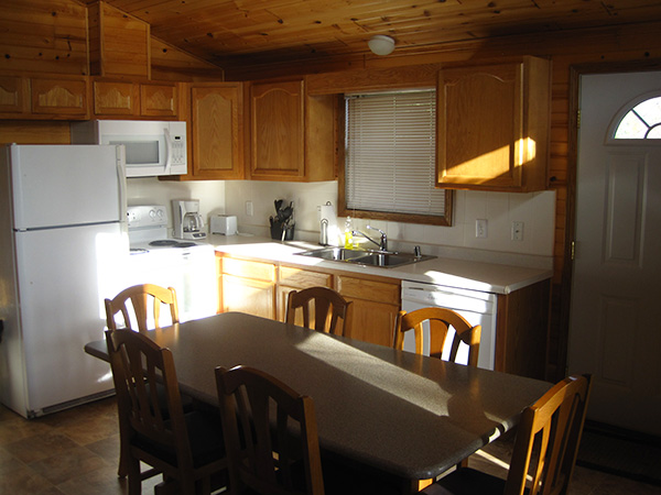 Osprey Cabin Kitchen