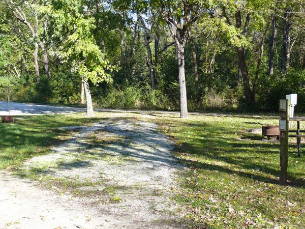 Bentonsport Campground site 01 -No Image