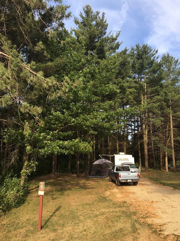 Fontana Park Campsite #6 -No Image