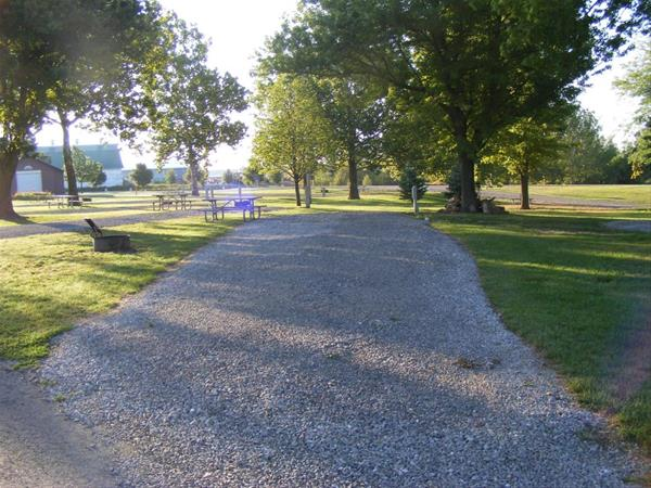 Marion County Park, Campsite #44 -No Image