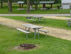 Mud Lake Park: Campsite 32 -No Image