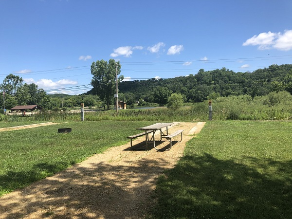 Heritage Campground Campsite 10 -No Image