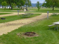 Mud Lake Park: Campsite 29 -No Image