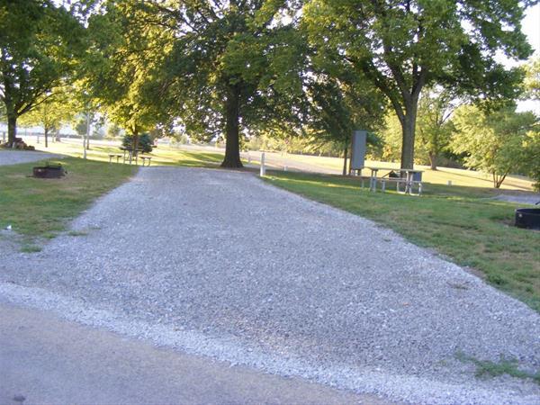 Marion County Park, Campsite #46 -No Image