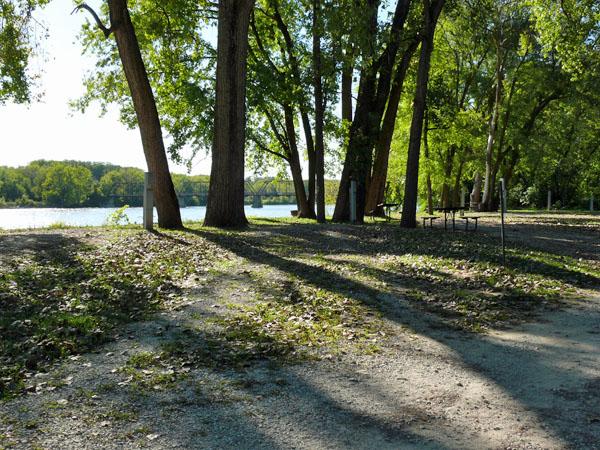 Bentonsport Campground site 17 -No Image