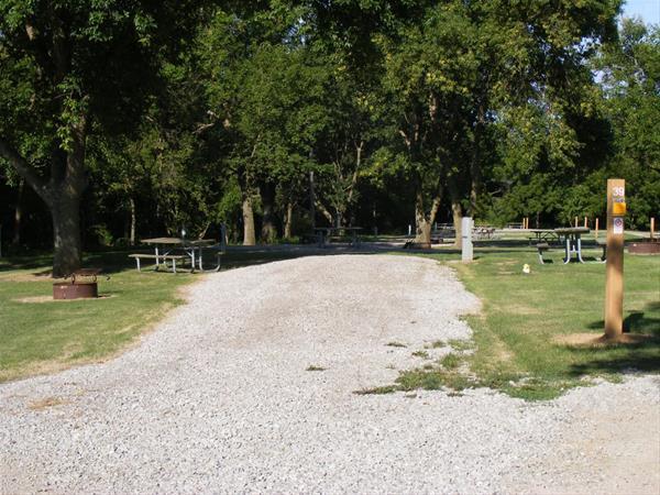 Marion County Park, Campsite #39 -No Image