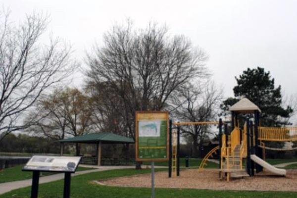 Easter Lake Shelter #5-lake improvements underway -No Image