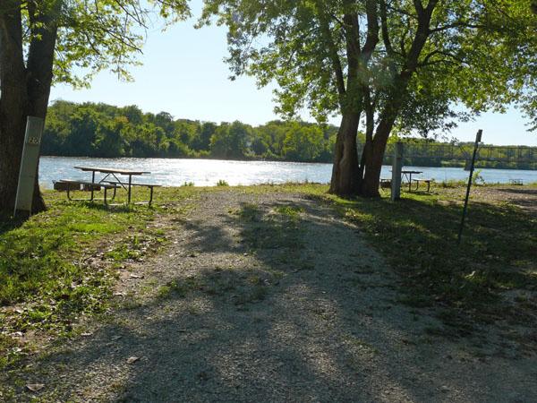 Bentonsport Campground site 19 -No Image
