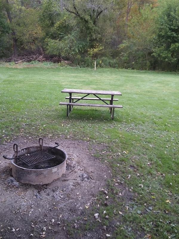 Bloody Run Campground, Campsite #2 -No Image