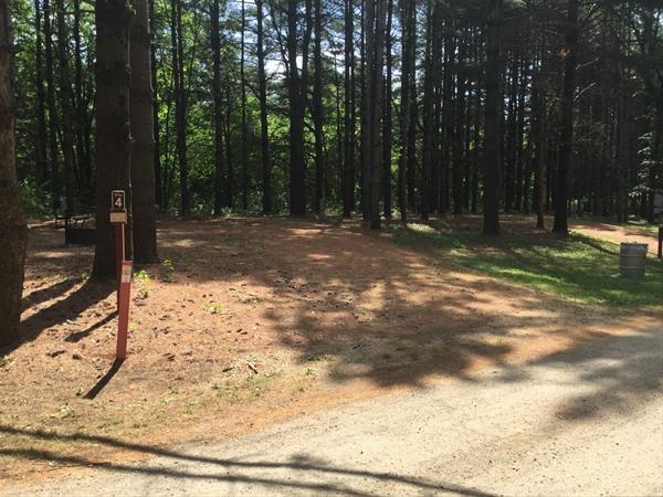 Fontana Park Campsite #4 -No Image