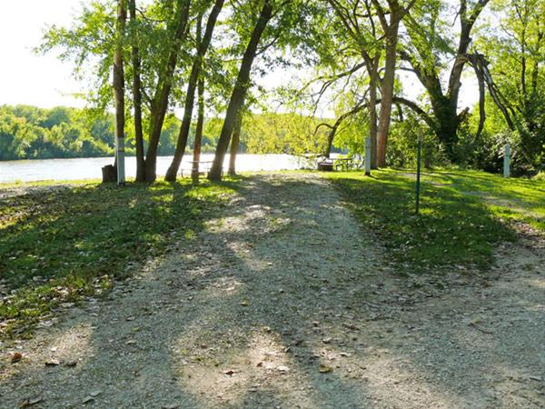 Bentonsport Campground site 14 -No Image