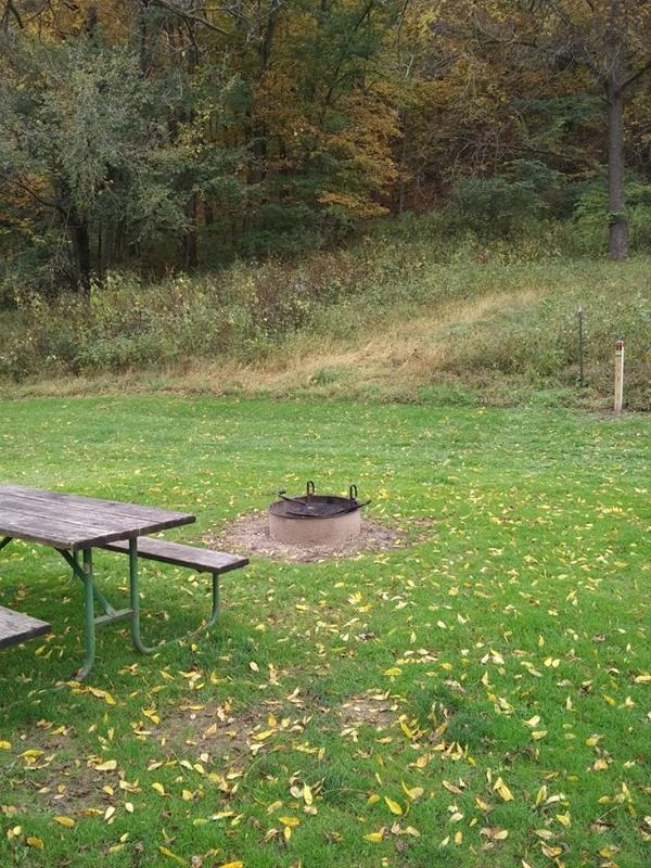 Bloody Run Campground, Campsite #5 -No Image
